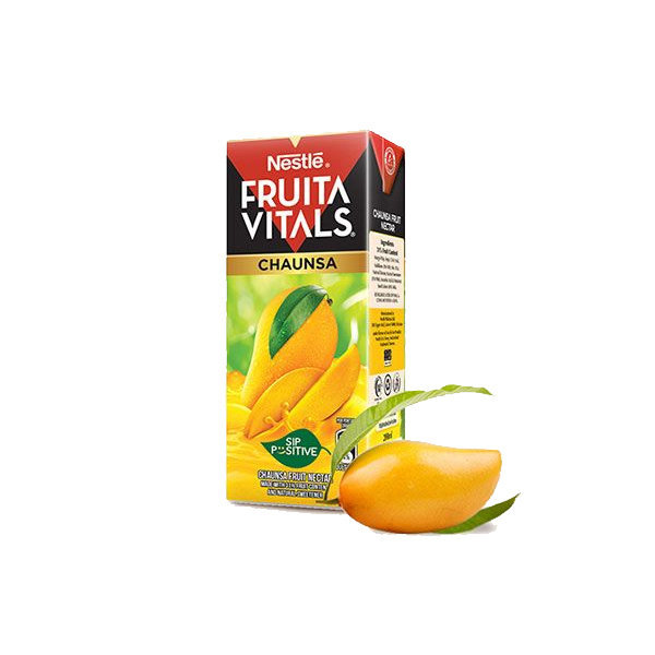 Nestle Fruita Vital Chaunsa Juice Tetra Pack 200ml