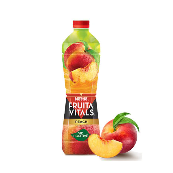 Nestle Fruita Vital Peach Juice Pet Bottle 1ltr