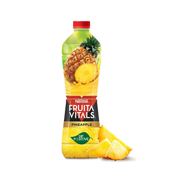 Nestle Fruita Vital Pineapple Juice Pet Bottle 1ltr