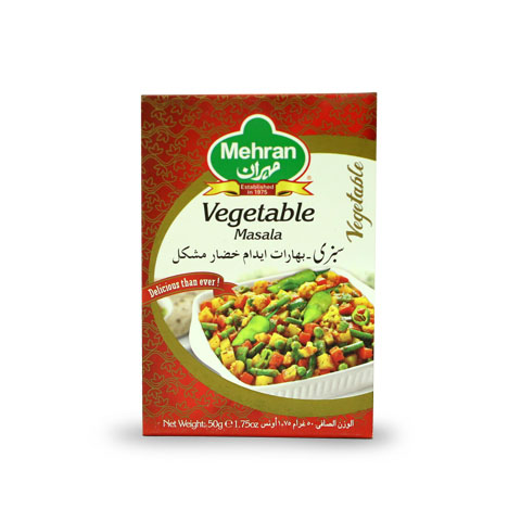 Mehran Vegetable Masala 50gm
