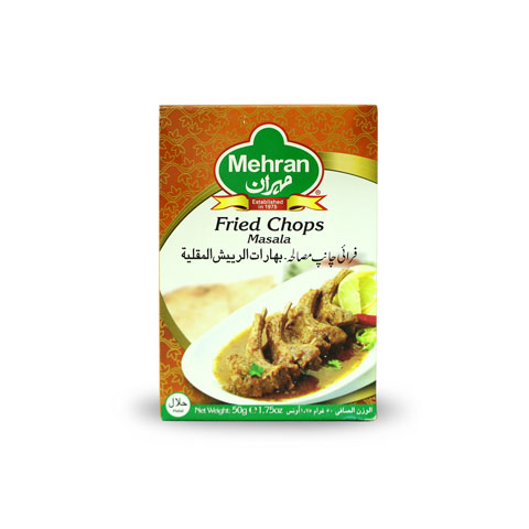 Mehran Fried Chop Masala 50gm