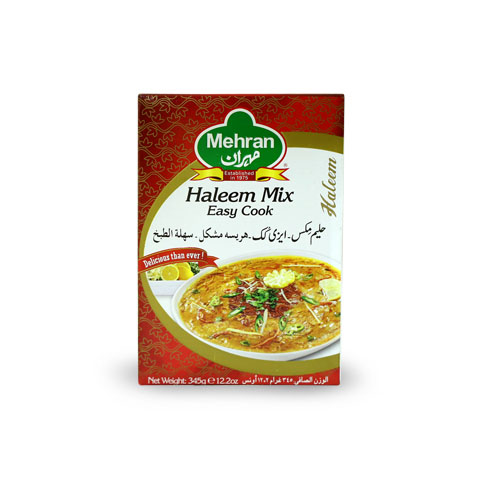 Mehran Easy Cook Haleem Mix Recipe Box 375gm