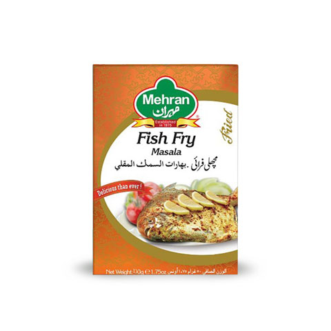 Mehran Fish Fry Masala D/Pack 100gm