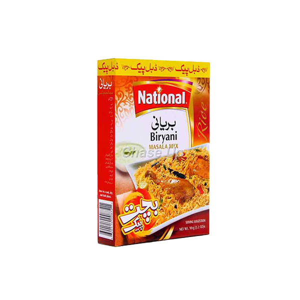 National Biryani Masala D/Pack 90gm