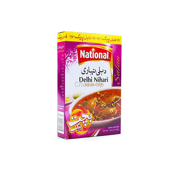 National Delhi Nihari Masala D/Pack 100gm