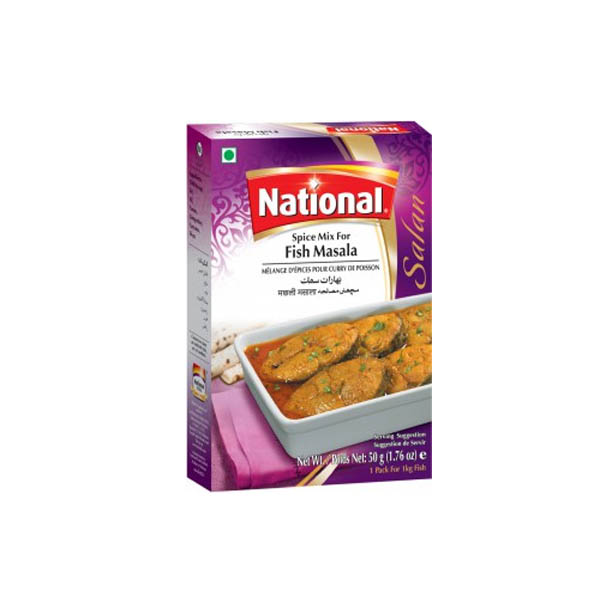 National Fish Masala D/Pack 100gm