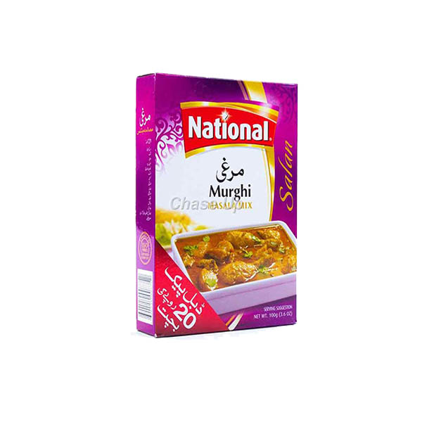 National Murghi Masala D/Pack 100gm