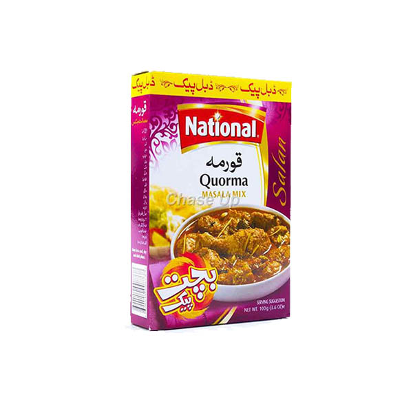 National Qorma Masala D/Pack 100gm