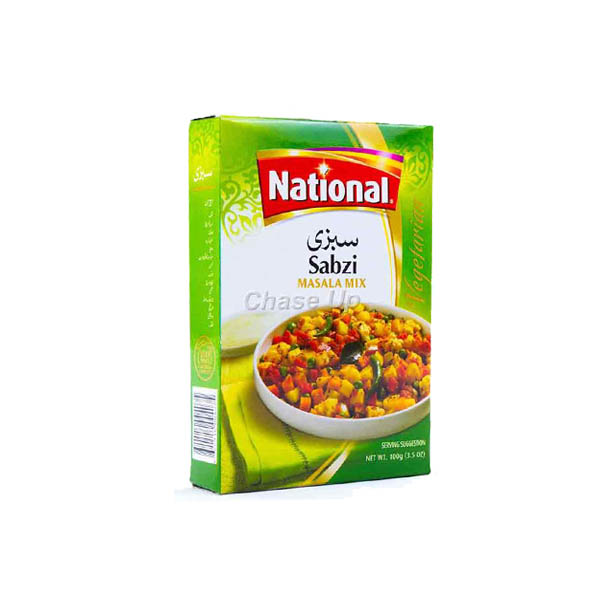 National Sabzi Bhujia Mix Masala 100gm