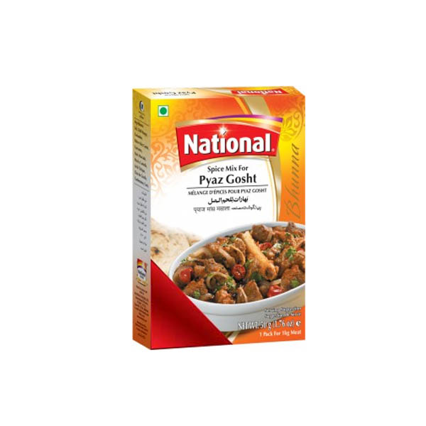 National Pyaz Gosht Masala 50gm