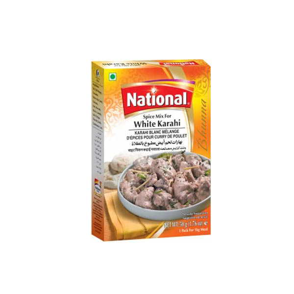 National White Karahi Gosht Masala 45gm