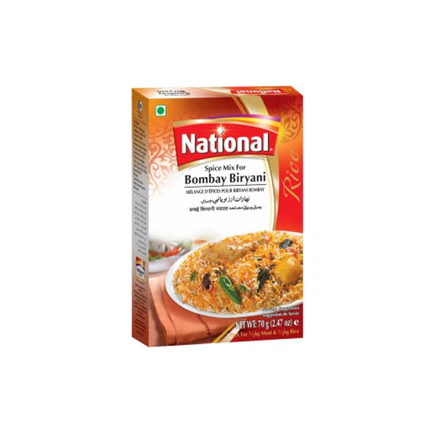 National Bombay Biryani Masala D/Pack 140gm