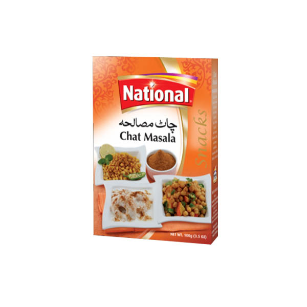 National Chat Masala Box 100gm