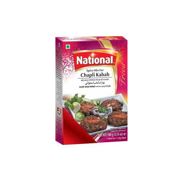 National Chapli Kabab Masala 100gm