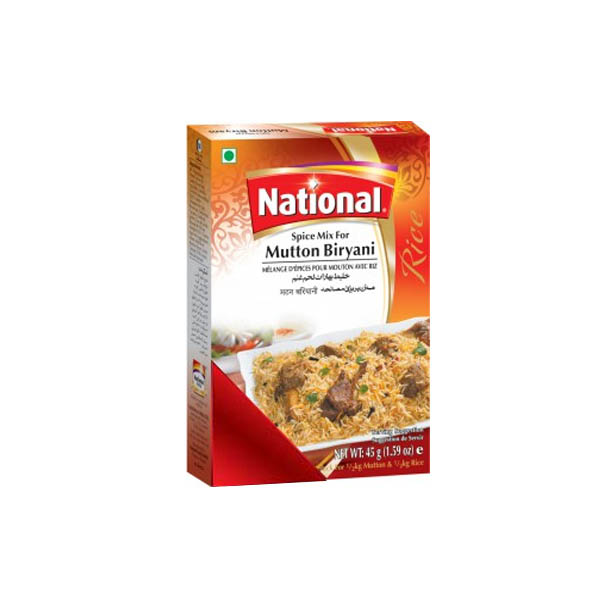 National Mutton Biryani Masala 50gm