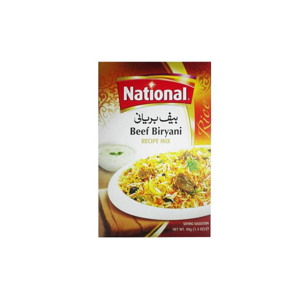 National Beaf Biryani Masala 40gm