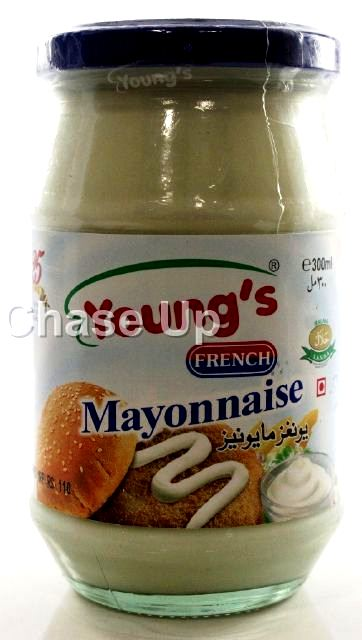 Youngs French Mayonnaise Bottle 300ml
