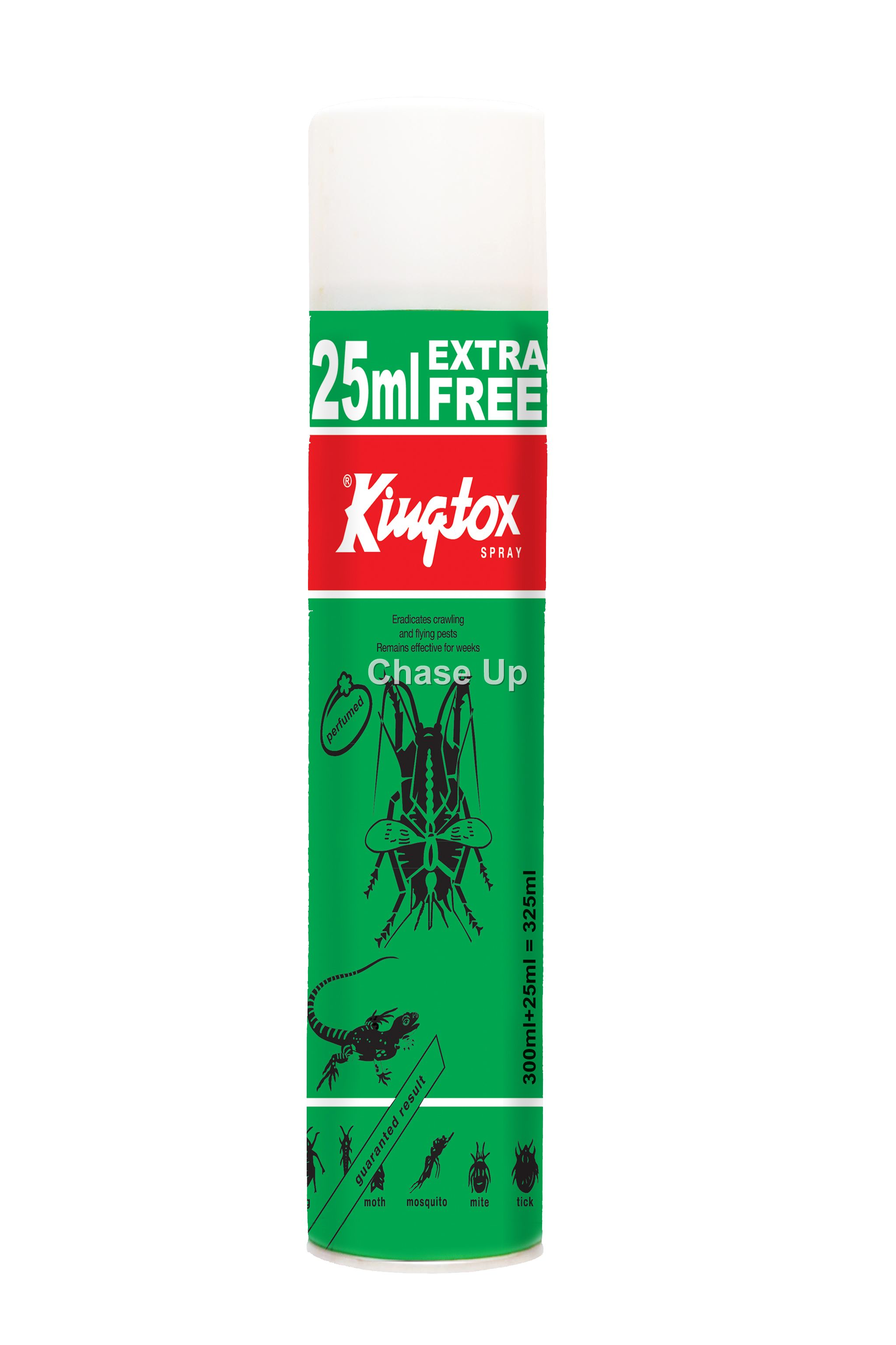 KingTox Green ECF Insect Killer Spray 325ml