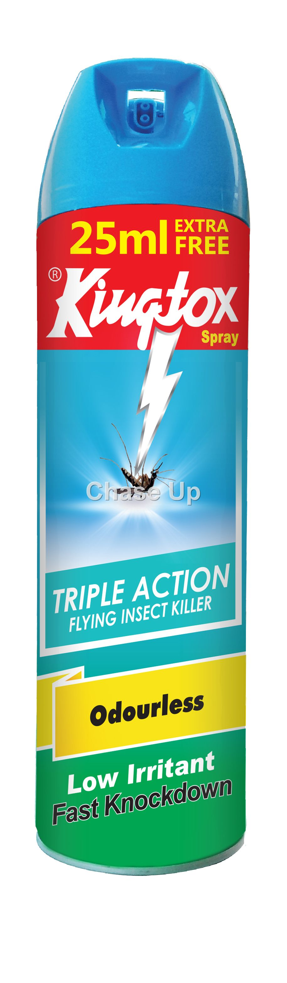 KingTox Odourless Fly & Insect Killer Spray 300ml