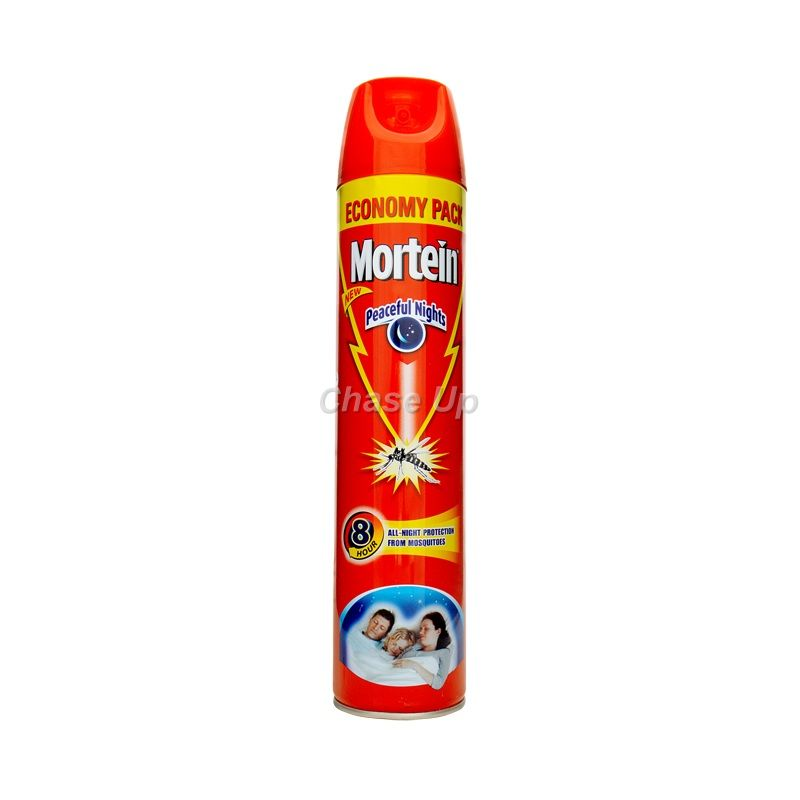 Mortein Peaceful Nights Fly & Mosquito Killer Spray 600ml