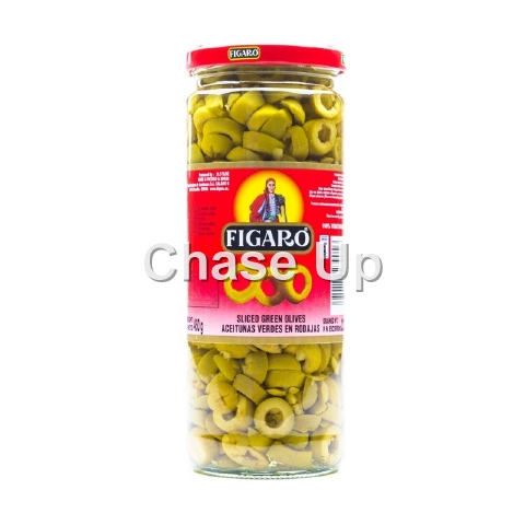 Figaro Sliced Green Olives 180gm