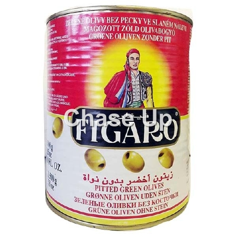 Figaro Sliced Green Olives Tin 3kg