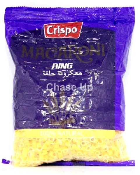 Crispo Ring Macaroni 400gm