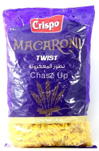 Crispo Twist Macaroni 400gm