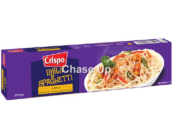 Crispo Spaghetti Box Promo 460gm 2pcs