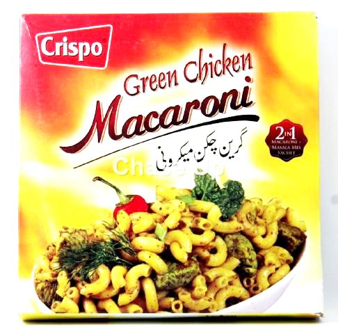 Crispo Green Chicken Macaroni 250gm