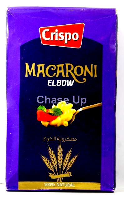 Crispo Elbow Macaroni wheat Box 400gm