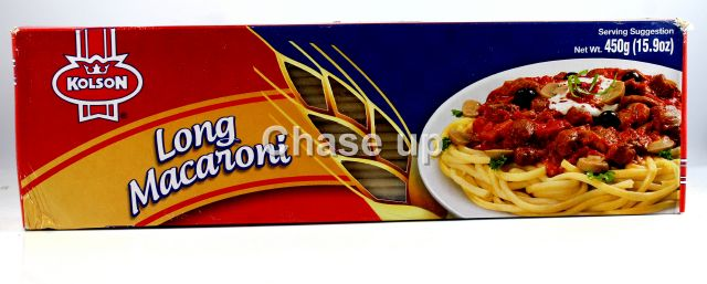 Kolson Long Macaroni Box 450gm