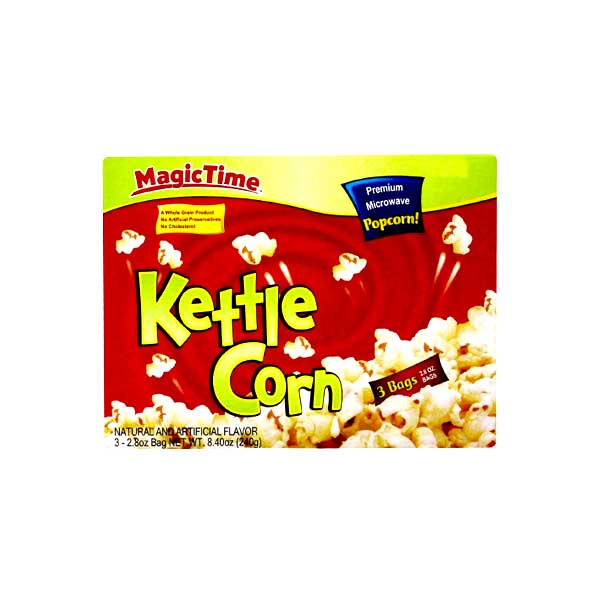 Magic Time Kettle Corn Popcorn 242gm