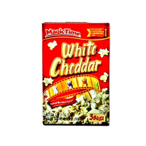 Magic Time White Chedder Popcorn 242gm