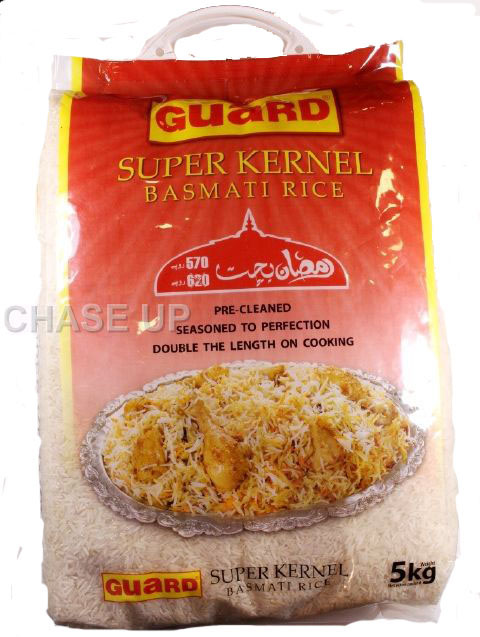 Guard Super Kernel Basmati Rice 5kg