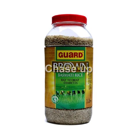 Guard Brown Basmati Rice Jar 1.5kg