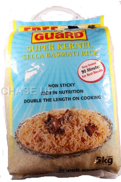 Guard Super Kernal Sella Rice 5kg