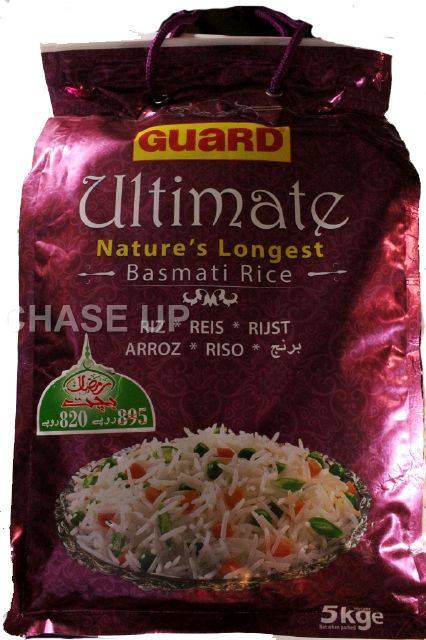 Guard Ultimate Basmati Rice 5kg