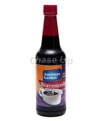 American Garden Worcestershire Sauce Bottle 295ml