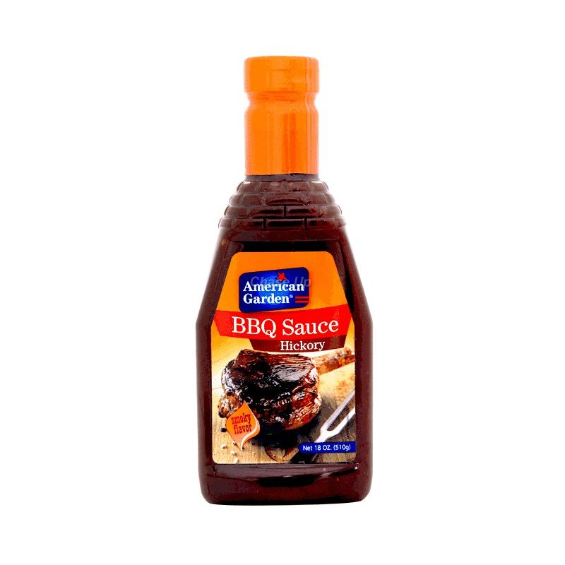 American Garden Hickory BBQ Sauce Bottle 510gm
