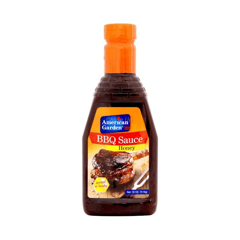 American Garden Honey BBQ Sauce Bottle 510gm