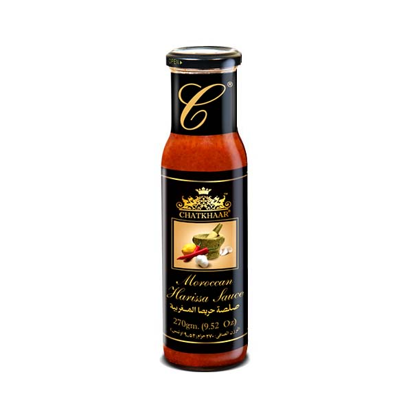 Chatkhaar Moroccan Harissa Sauce Bottle 270gm