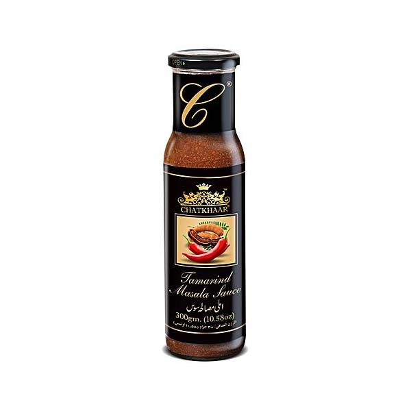 Chatkhaar Tamrind Masala Sauce Bottle 300gm