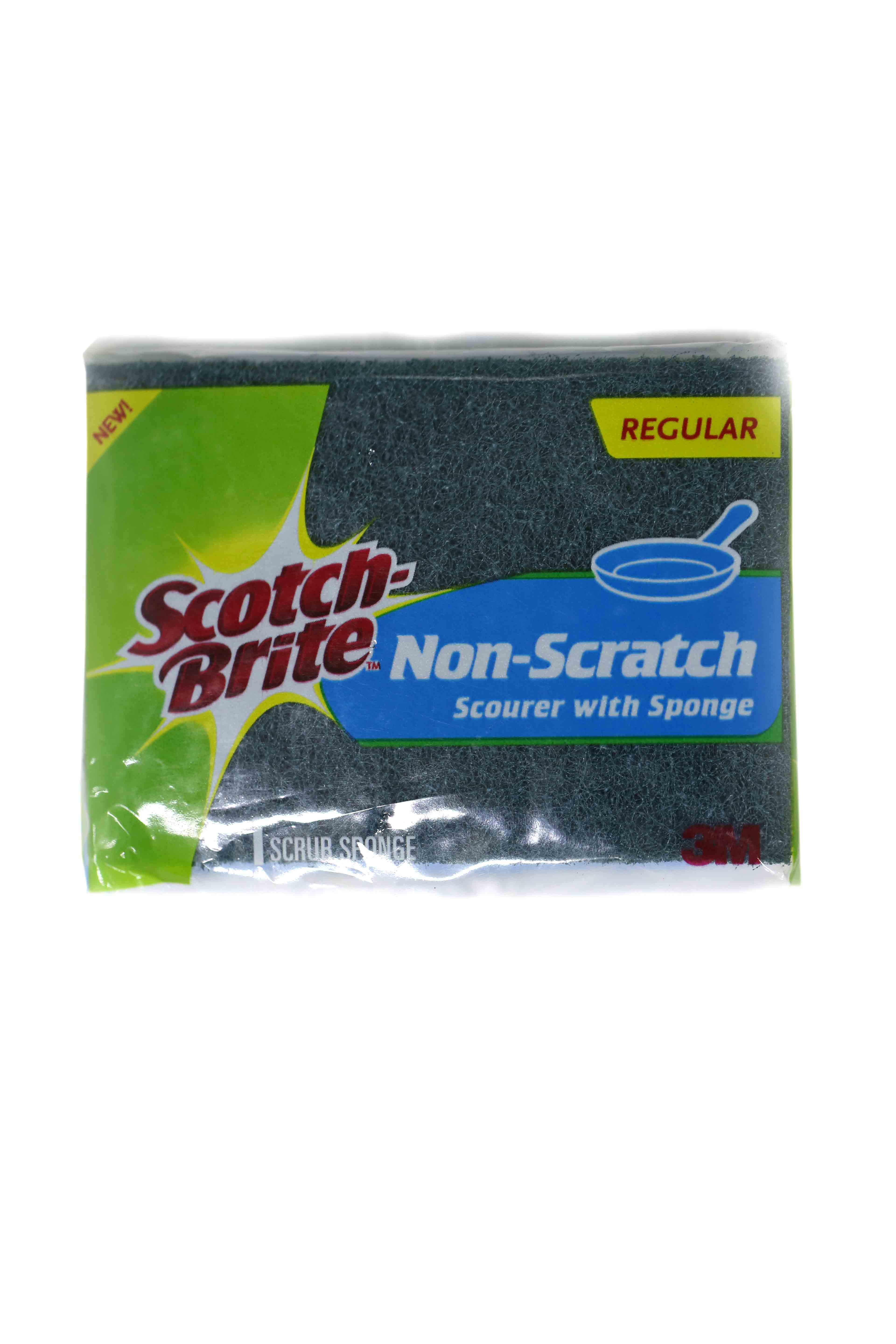 3-M Scotch Brite Non Scratch Pads Large 1pcs
