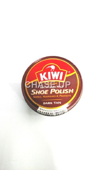 Kiwi Dark Tan Shoe Polish 90ml
