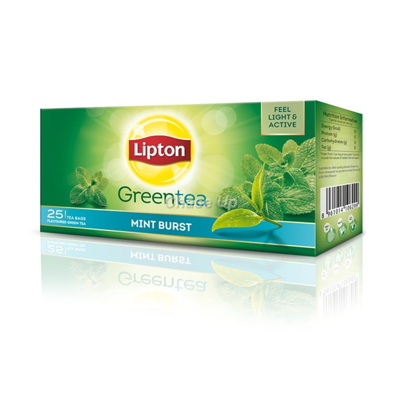 Lipton Mint Green Tea T/B 25pcs