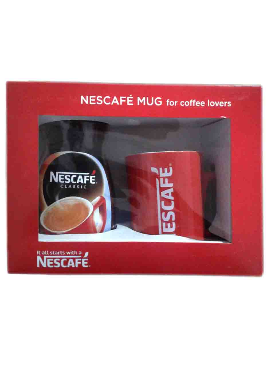 Nescafe Classic Coffee Bottle 100gm Mug Promo