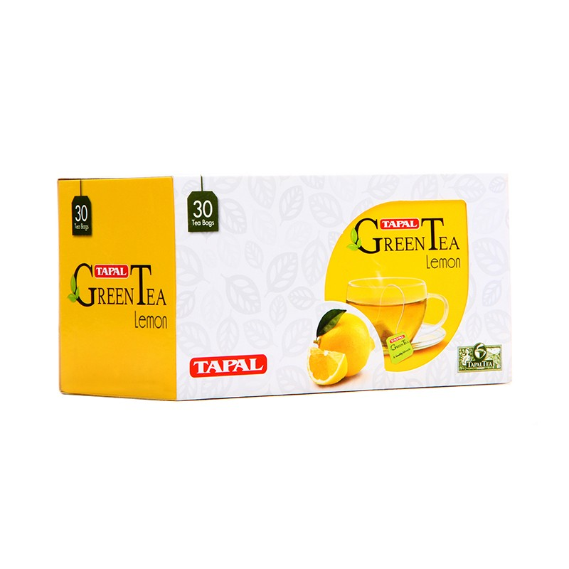Tapal Lemon Green Tea T/B 45gm 30pcs