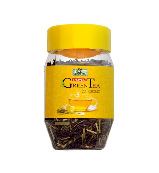 Tapal Lemon Grass Green Tea Jar 100gm