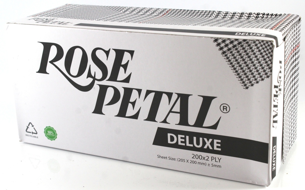 Rose Petal Deluxe Soft & Gentle Tissue Box 200*2Ply